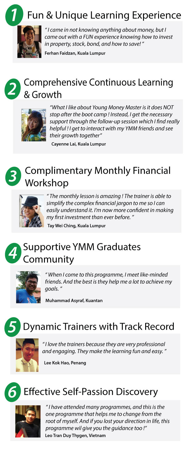 6 Reasons Youth Attend Young Money Master
